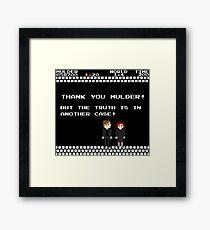 Thank You Mulder ! Framed Print