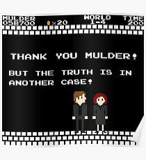 Thank You Mulder ! Poster