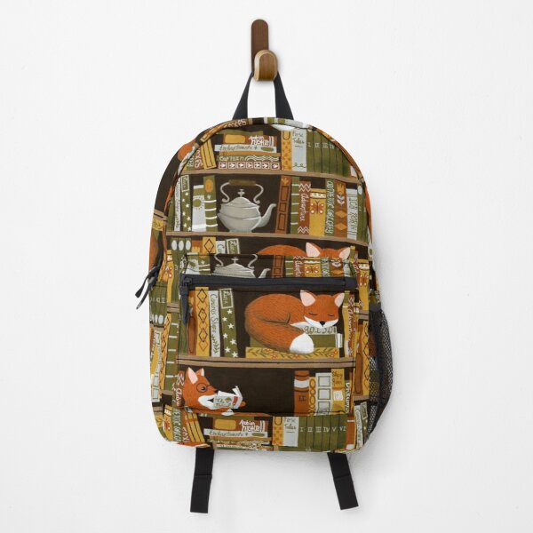 Fox reading book SKY Backpack