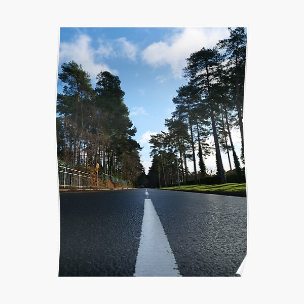 Road ahead - New Year to start Poster