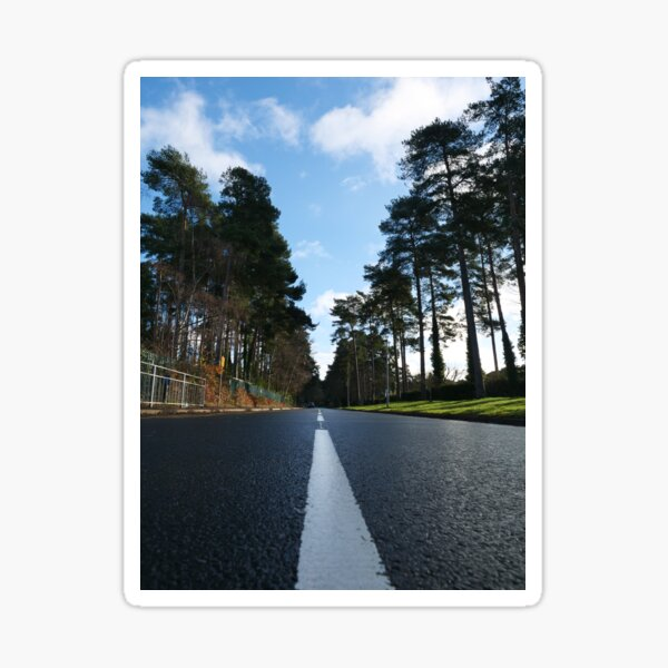 Road ahead - New Year to start Sticker