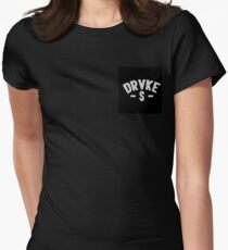 DrakeVsEverybody Condensed Logo Women's Fitted T-Shirt