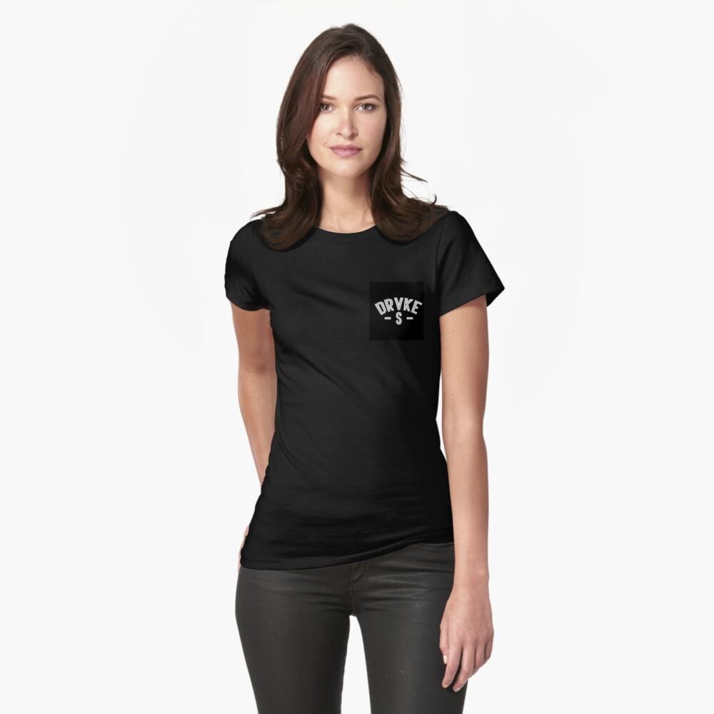 DrakeVsEverybody Condensed Logo Womens T-Shirt Front