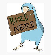 Bird Nerd Photographic Print
