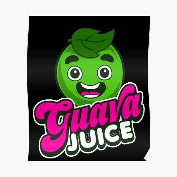 Kids Guava Juice, Youtuber Merch, Guava Juice Poster