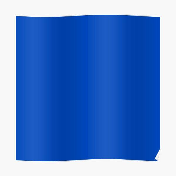 Chroma Blue Key  Poster
