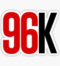 96k Sticker