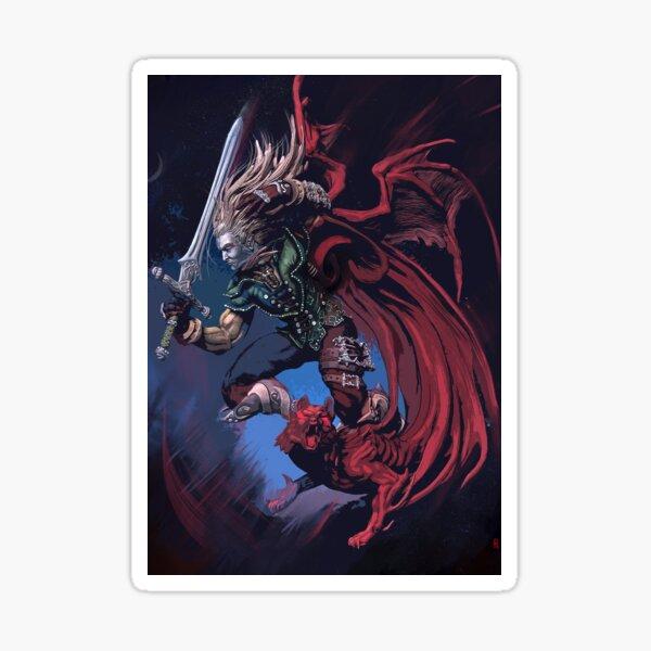 Vampire Summoner Sticker