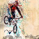 BMXing Like Peter Pan by laxwings