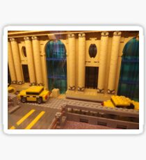 Lego Grand Central Terminal, Lego Store Rockefeller Center, New York City Sticker