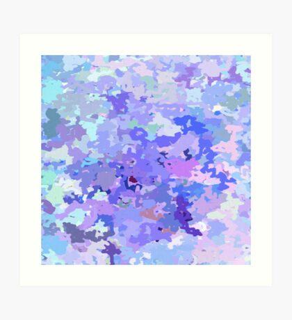 Lilac zinc Art Print