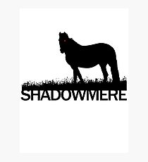 Shadowmere (Elder Scrolls) Photographic Print