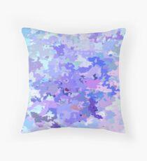 Lilac zinc Throw Pillow