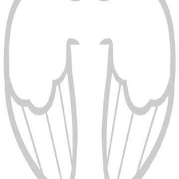 Pegasus Wings (MLP:FiM) by cerulean-prints