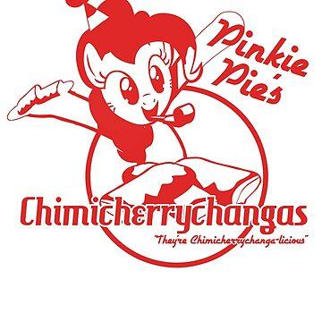 Pinkie Pie's Chimicherrychangas (MLP:FiM) by cerulean-prints