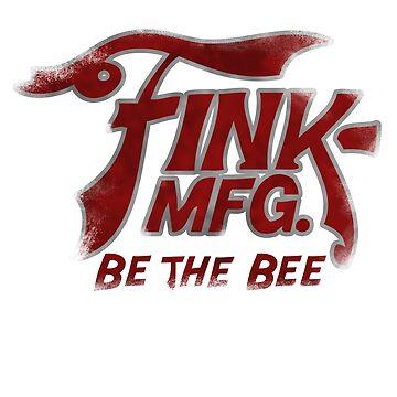 Be The Bee Logo (Bioshock Infinite) by cerulean-prints