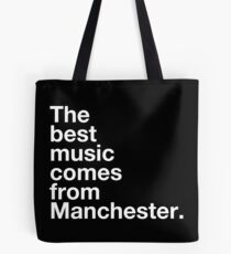 Manchester Musik Tote Bag