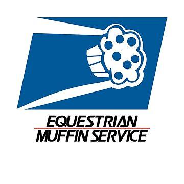 Equestrian Muffin Service (MLP:FiM) by cerulean-prints