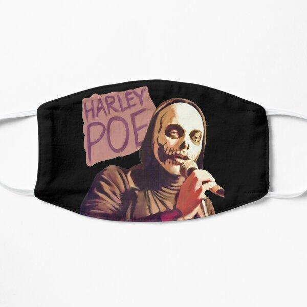 harley poe folk punk bratmobile Flat Mask