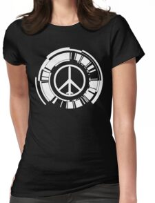 MGS - Peace walker - White Womens Fitted T-Shirt
