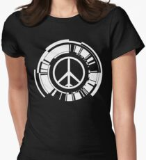 MGS - Peace walker - White Women's Fitted T-Shirt