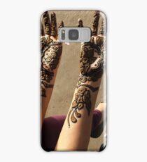 Mehndi for Hindu Weddings Samsung Galaxy Case/Skin