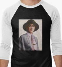 A Young Agatha Christie Baseball ¾ Sleeve T-Shirt