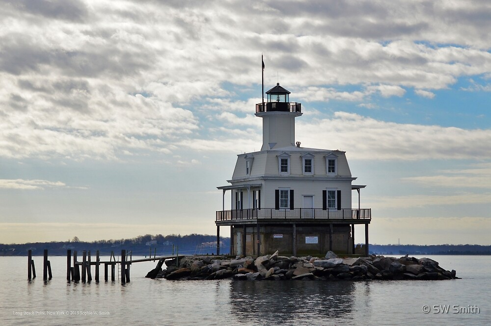 Bug Light | Long Beach Point, New York by © Sophie W. Smith