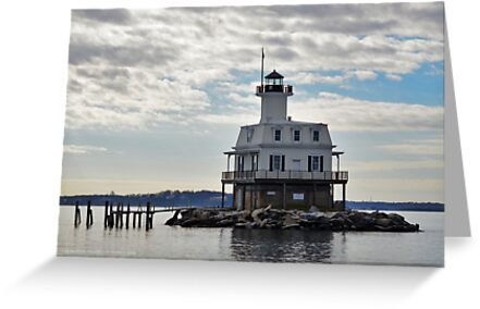 Bug Light   Long Beach Point, New York by © Sophie W. Smith