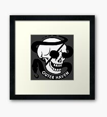 MGS - Outer Haven Skull Framed Print