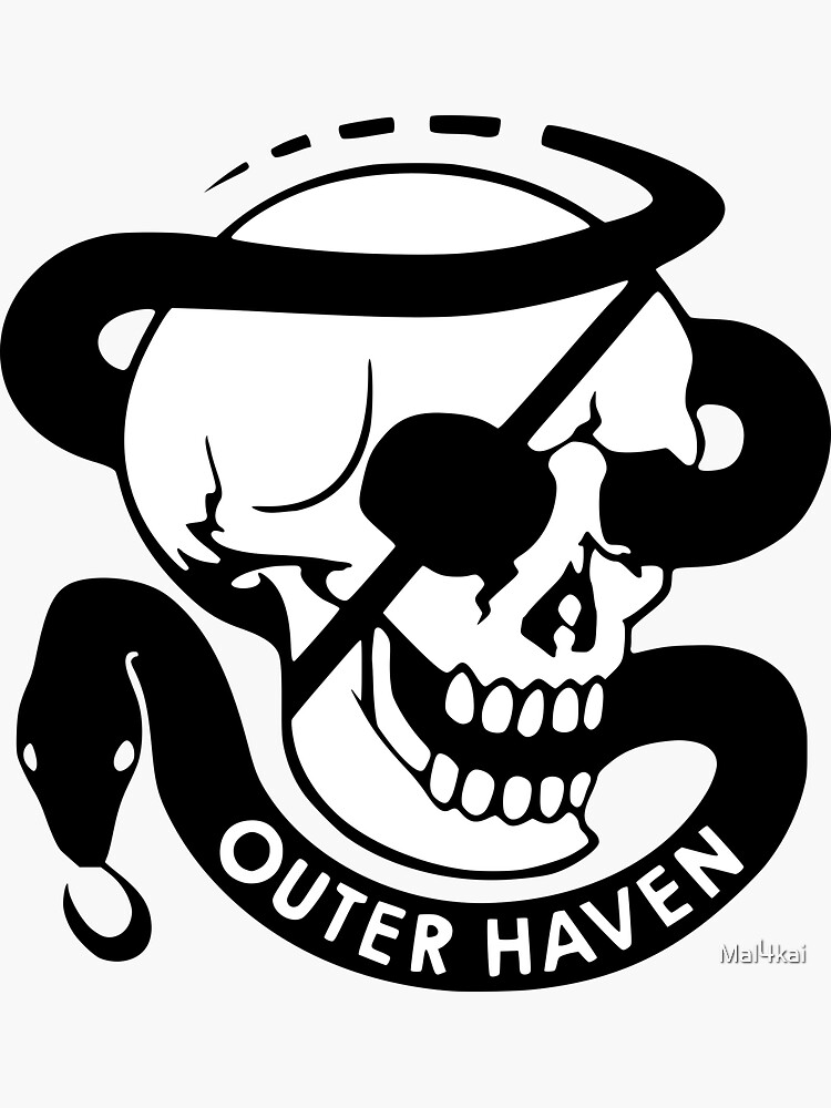 MGS - Outer Haven Skull by Mal4kai