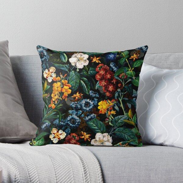 Mysterious Garden II Throw Pillow