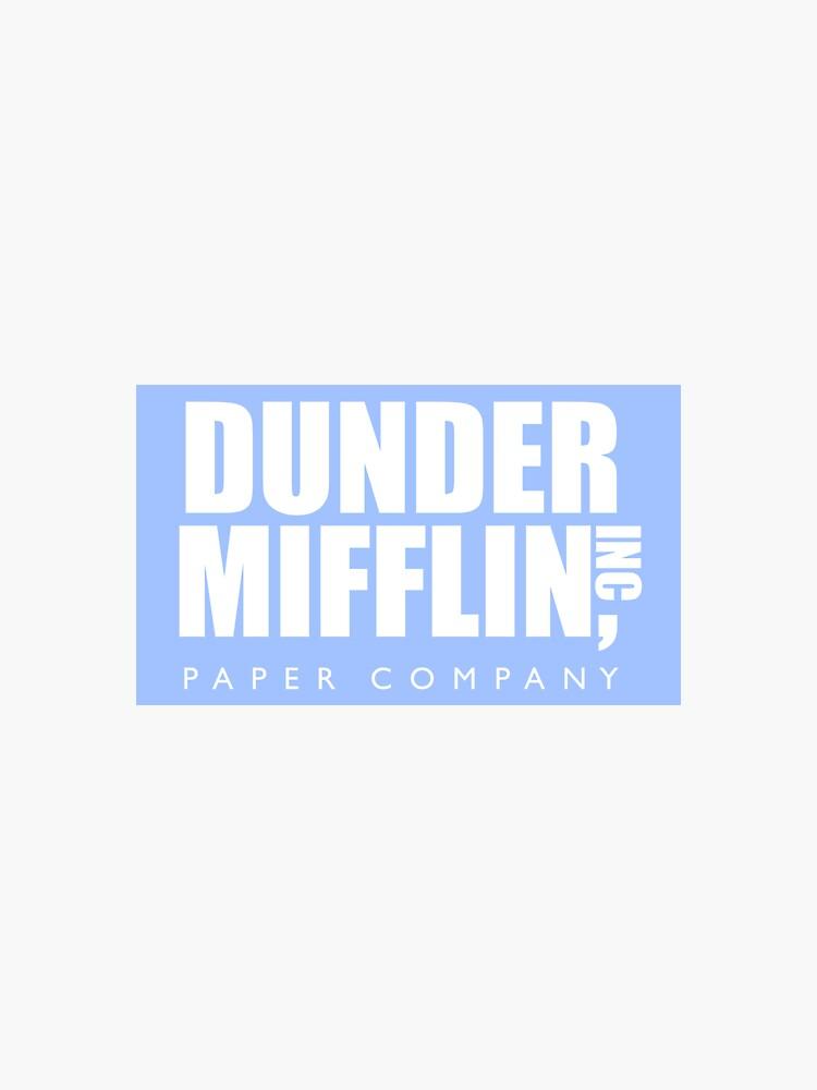 The Office Dunder Mifflin Paper Company by decentart