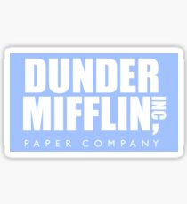 Die Office Dunder Mifflin Papierfabrik Sticker