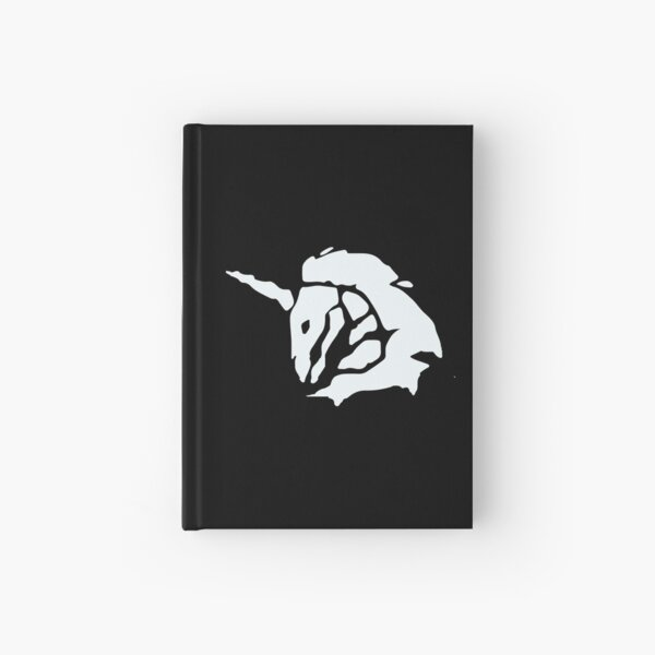 Ghost Captain Sails Symbol - Sea of Thieves  Hardcover Journal