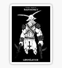 Baphomet Godslayer Sticker