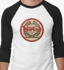 Norton - distressed sign Men's Baseball ¾ T-Shirt