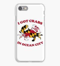 Ocean City Crabs iPhone Case/Skin