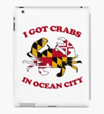 Ocean City Crabs iPad Case/Skin