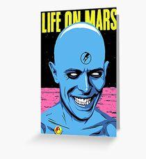 Mars Greeting Card
