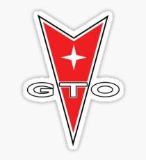 Pontiac GTO Shirt Sticker
