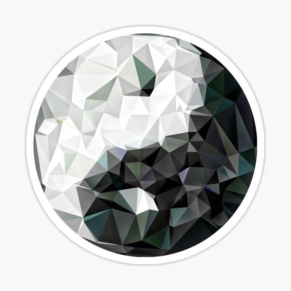 Yin yang Contour Sticker