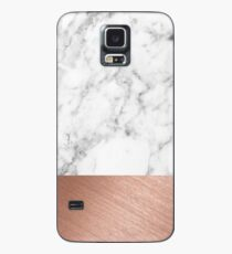 Rose Gold Marble Case/Skin for Samsung Galaxy
