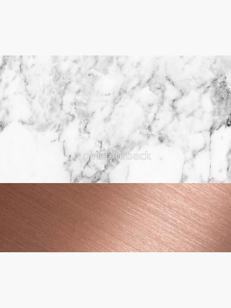 Rose Gold Marble by girlsbiteback