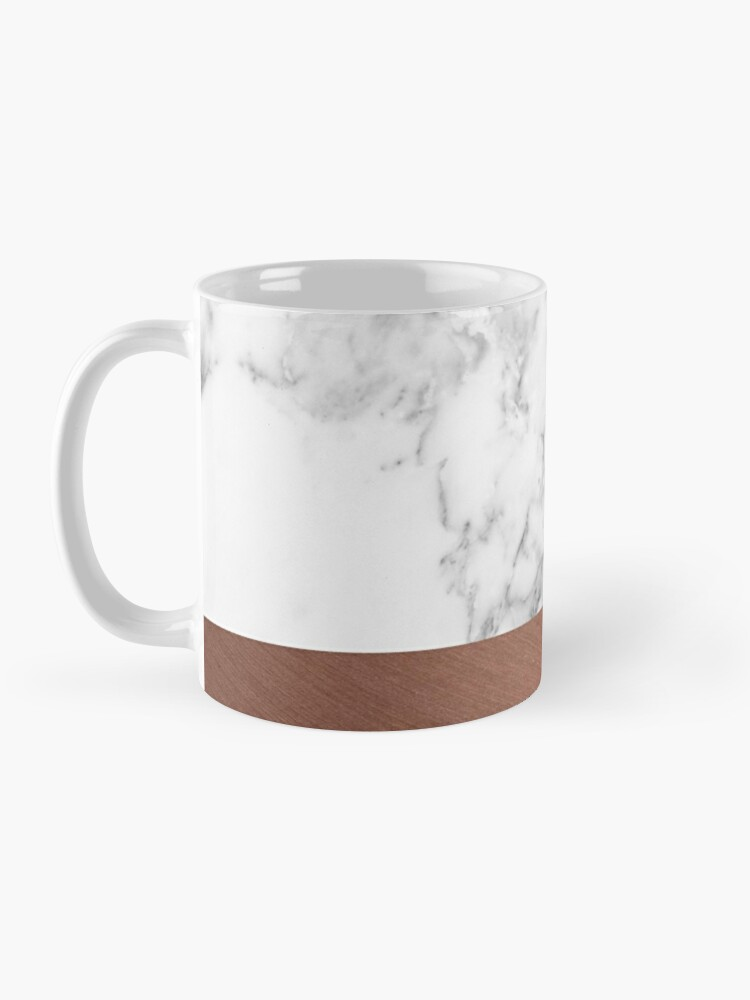 Alternate view of Rose Gold Marble Mug
