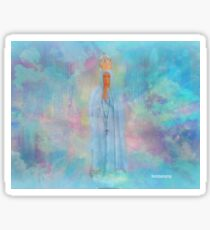 Blessed Mother Mary VIEW LARGER..THANK YOU Sticker