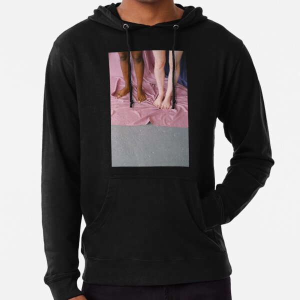 """""""Duality"""" (black and white) series A-Line Dress Lightweight Hoodie"""