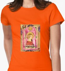 Medusa( De La Art Nouveau) Womens Fitted T-Shirt
