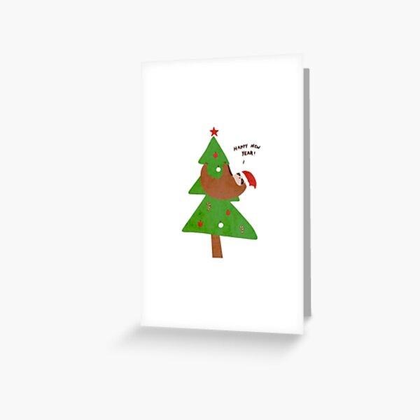 Belated Seasons Greetings Greeting Card