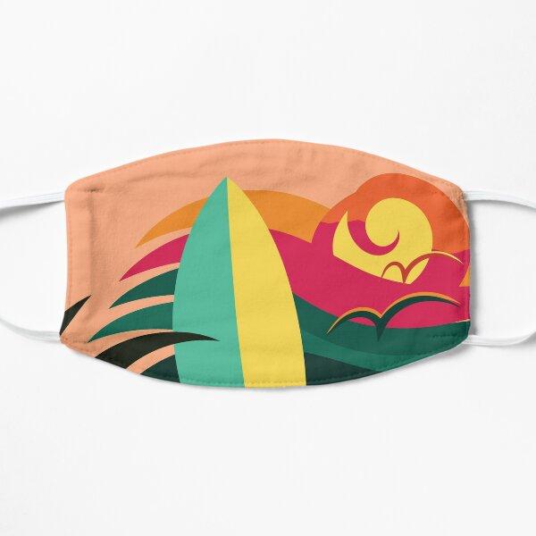 Venice beach California surf and skate paradise (colors) Mask